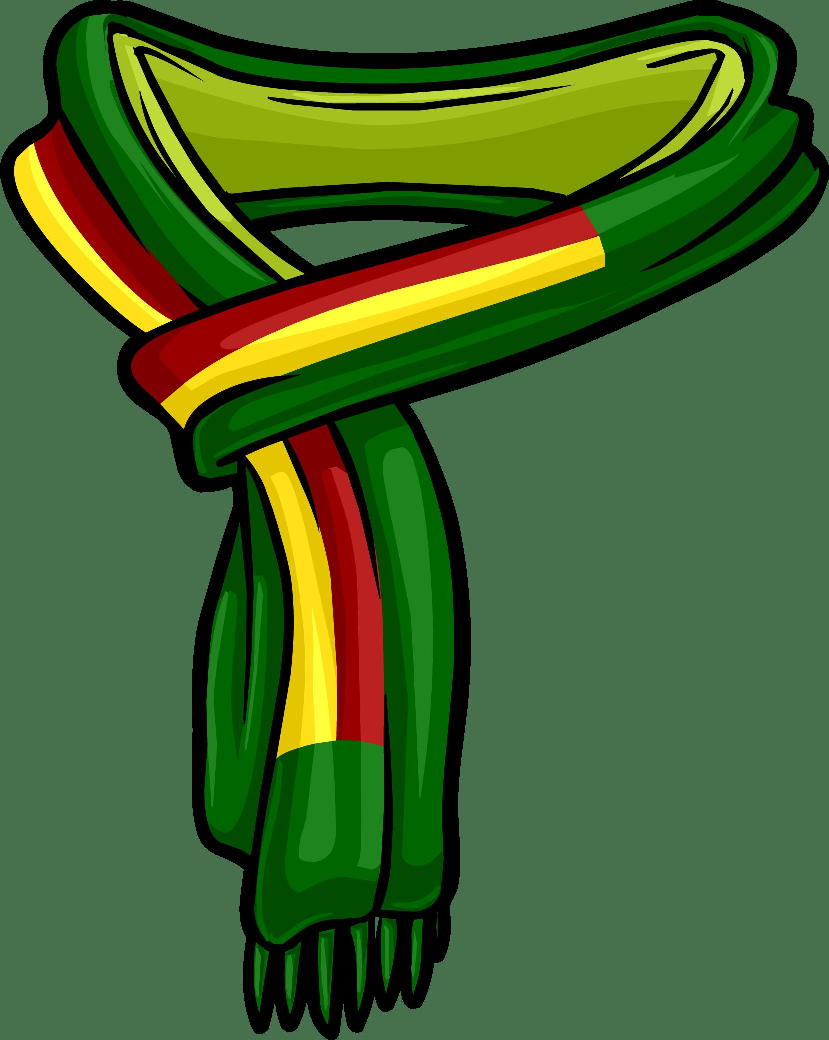 Reggae Scarf transparent PNG - StickPNG