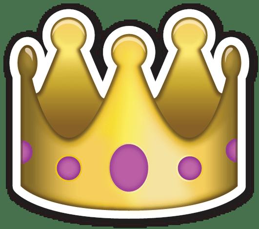 Emoji Crown Sticker Transparent Png Stickpng