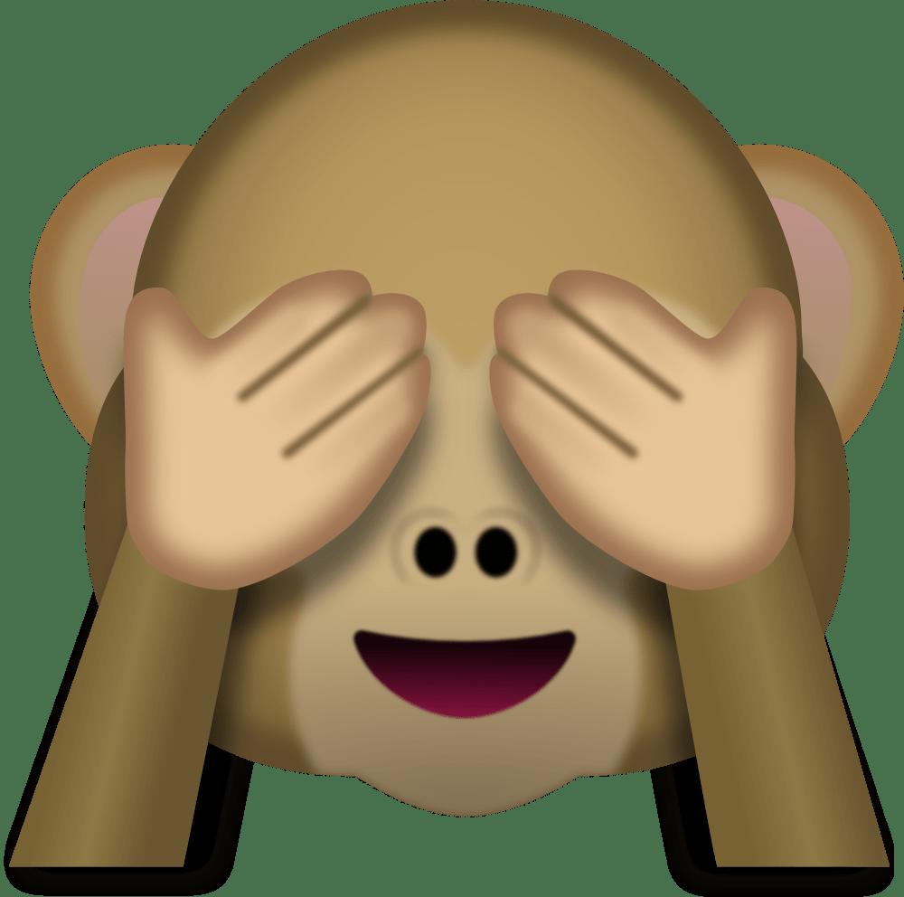 Monkey Face Emoji Transparent Png Stickpng