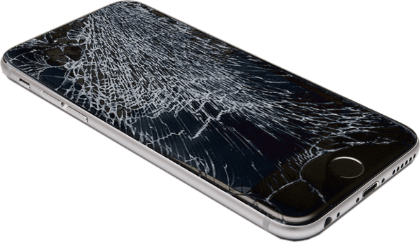 on sale 0e189 1bda1 Iphone 6 Smashed Screen transparent PNG - StickPNG