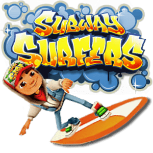 Subway Surfers Character And Logo Transparent Png Stickpng