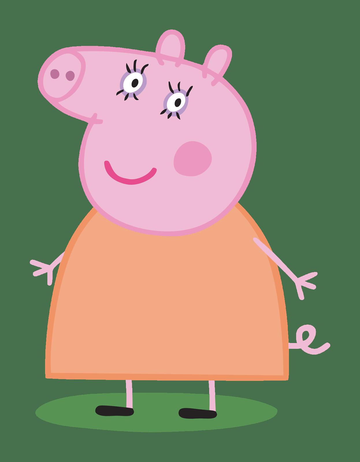 Peppa Pig Iron On Birthday Shirt Transfer - Rainbow - Mummy Pig ...