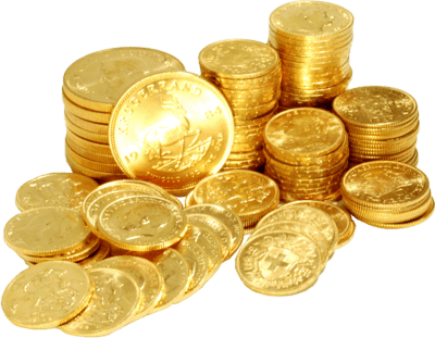 Gold Coins Transparent PNG