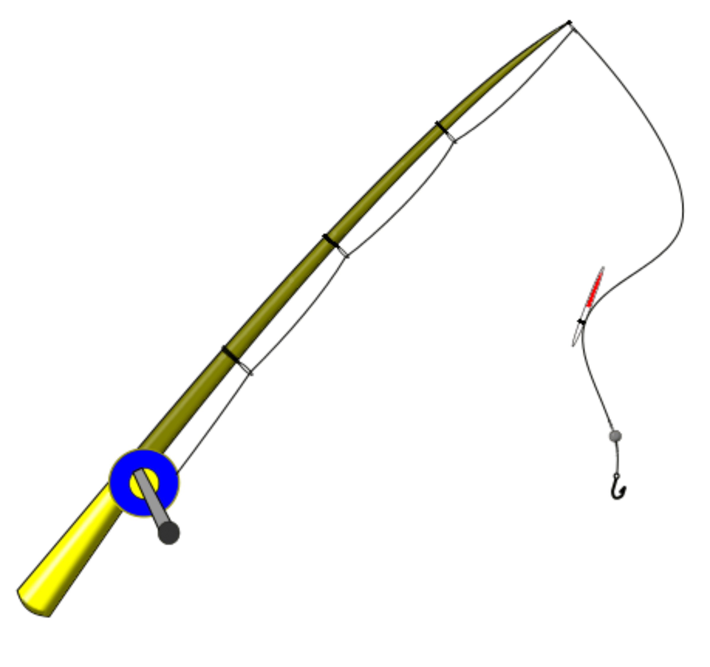 Fishing Rod Clipart Transparent Png Stickpng