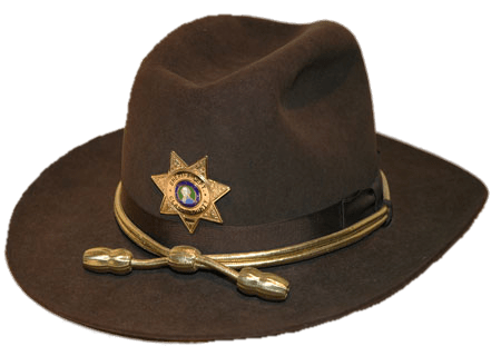 1e3e9c4bf4b58 Brown Sheriff s Hat transparent PNG - StickPNG