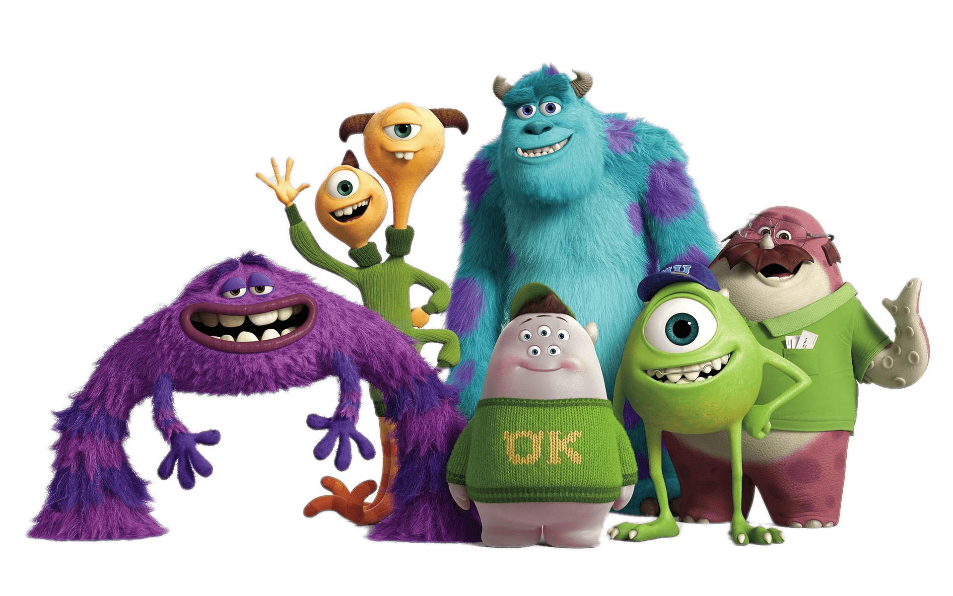 Monsters University Group Transparent Png Stickpng