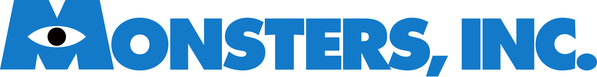 Monster Inc Long Logo Transparent Png Stickpng