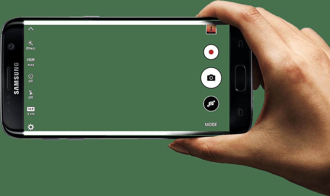 Samsung Galaxy S7 Edge Screen transparent PNG - StickPNG