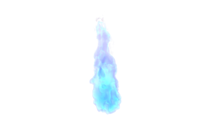 Flamme Feu Bleu PNG transparents - StickPNG