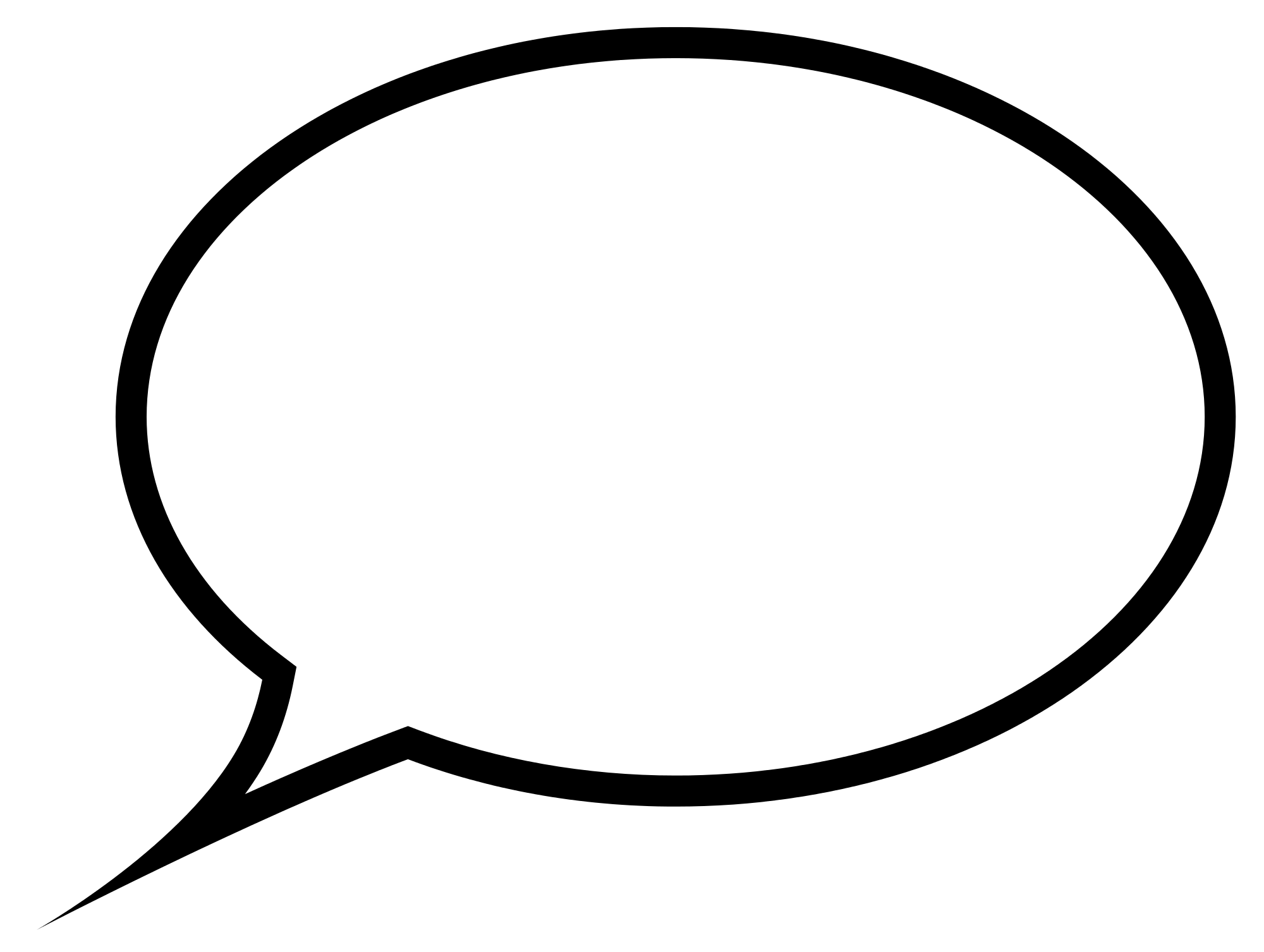 Speech Bubble transparent PNG - StickPNG