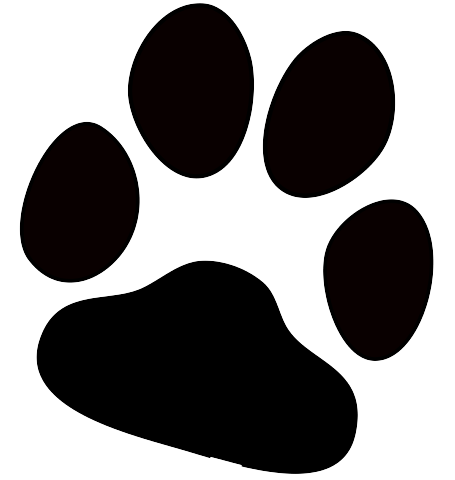 dog paw print transparent png stickpng rh stickpng com dog feet clip art dog paw clip art black and white