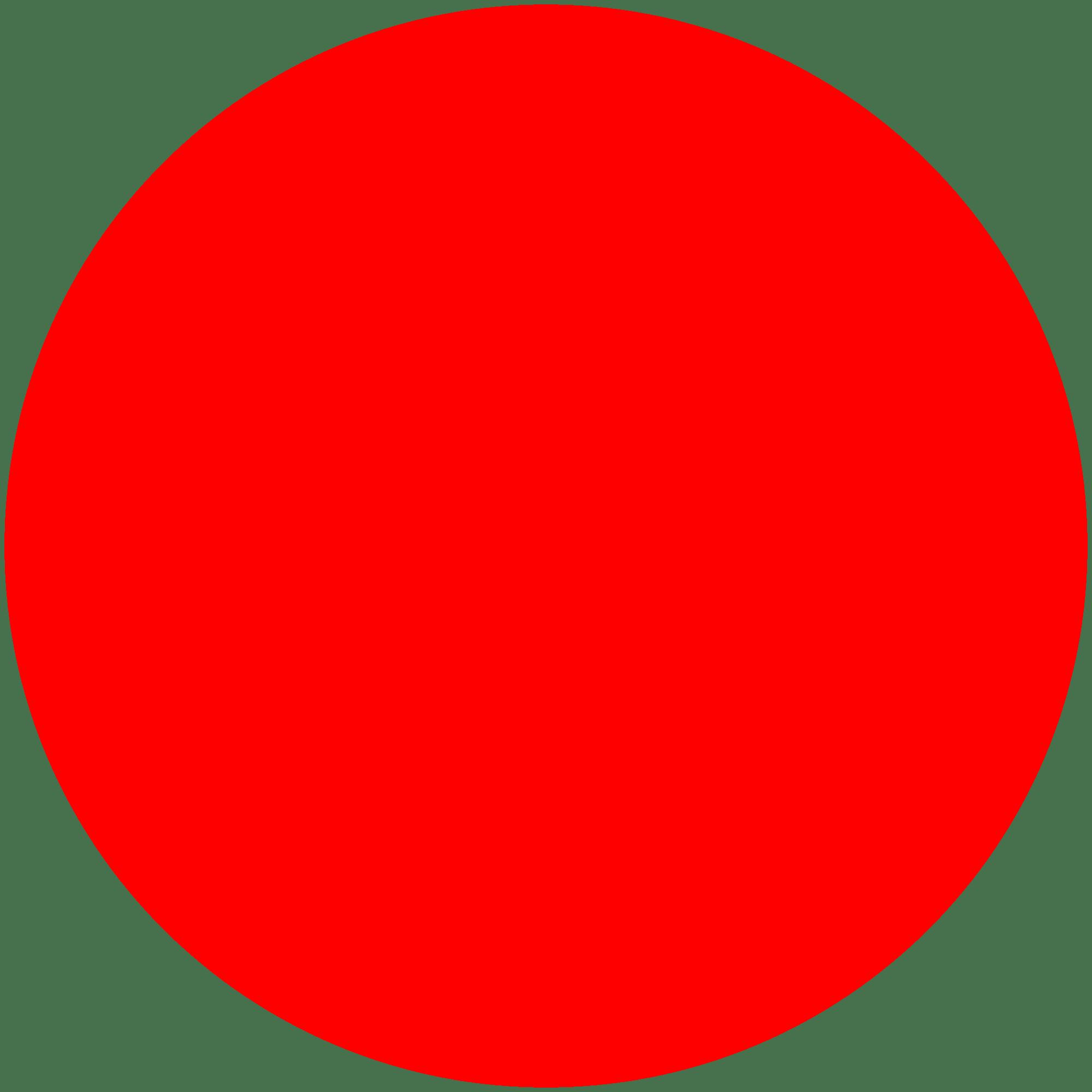red circle transparent png stickpng