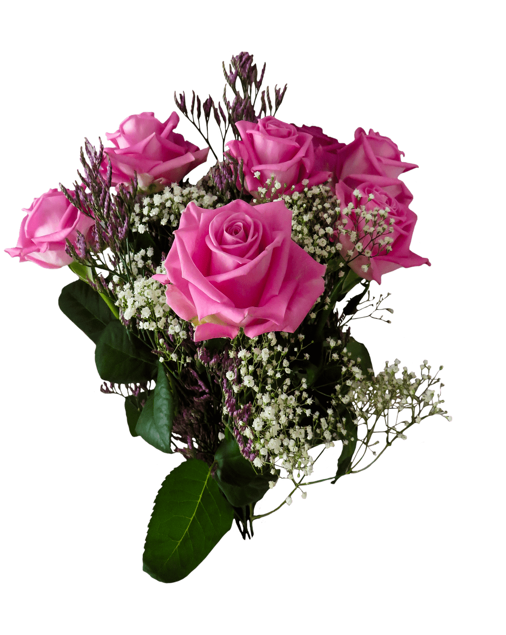 Birthday Roses Transparent Png Stickpng