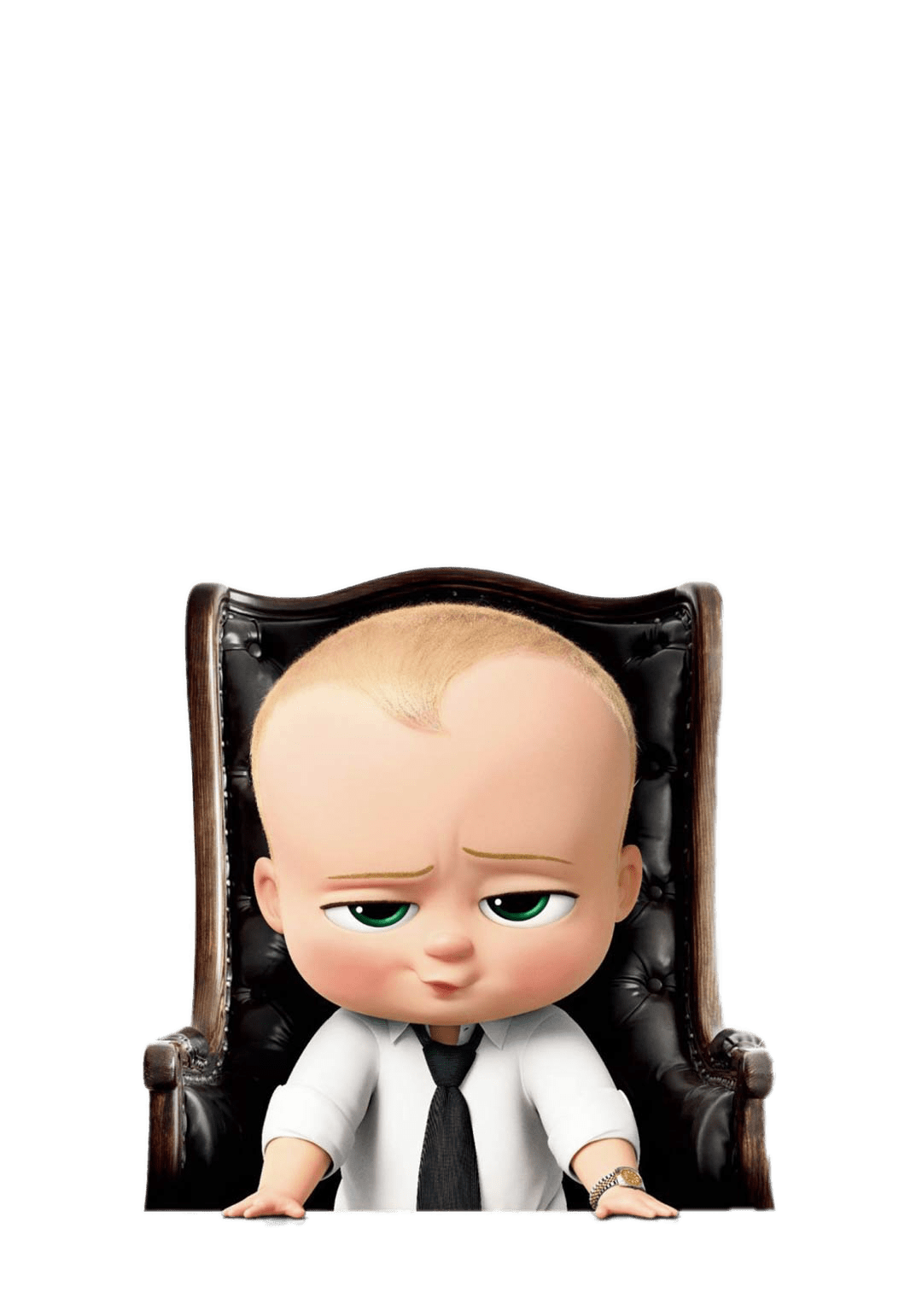 Boss Baby In Desk Chair Transparent Png Stickpng