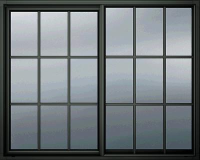 Black Window Frame Transparent Png Stickpng