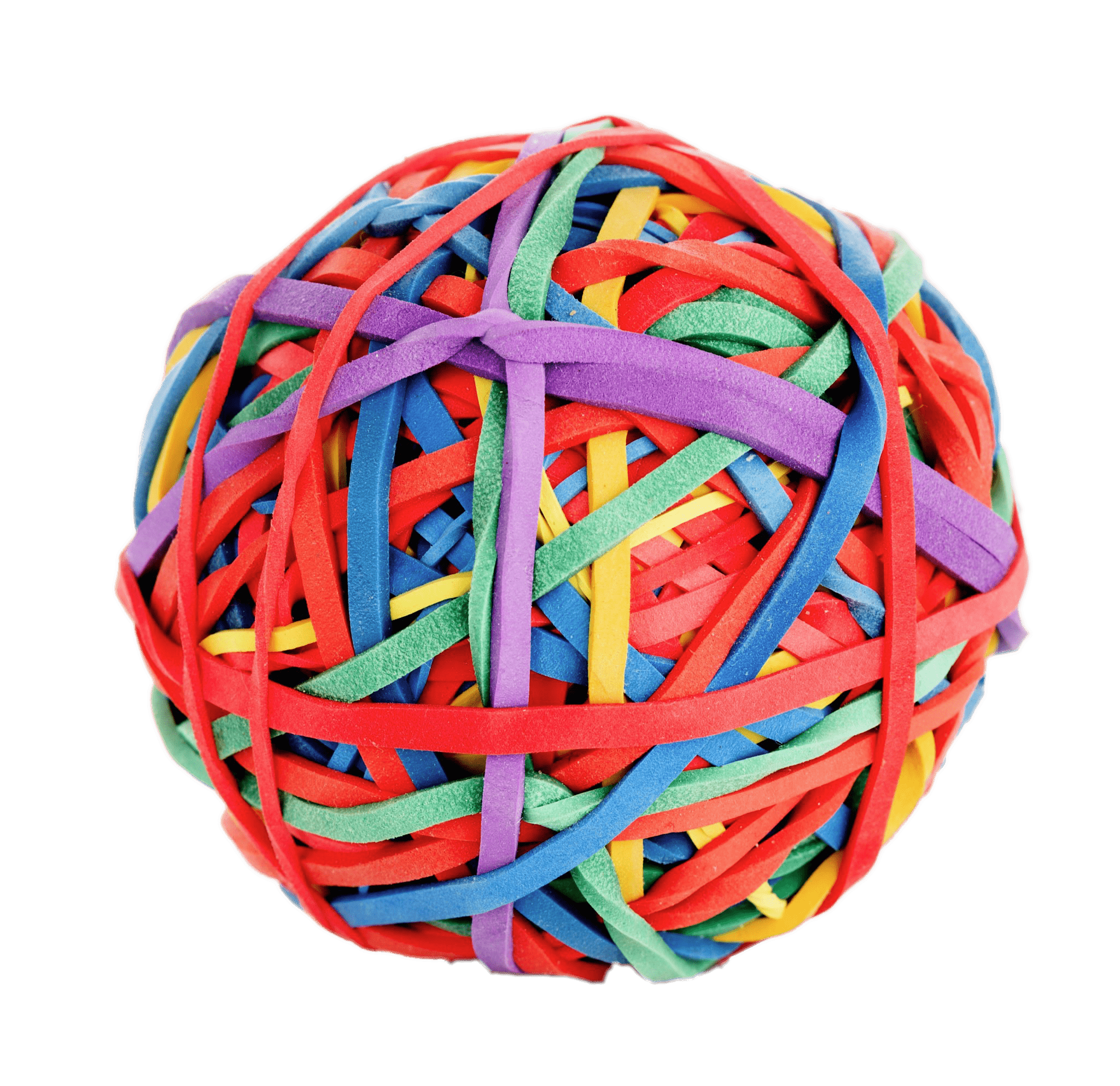 Ball Of Rubber Bands Transparent Png Stickpng