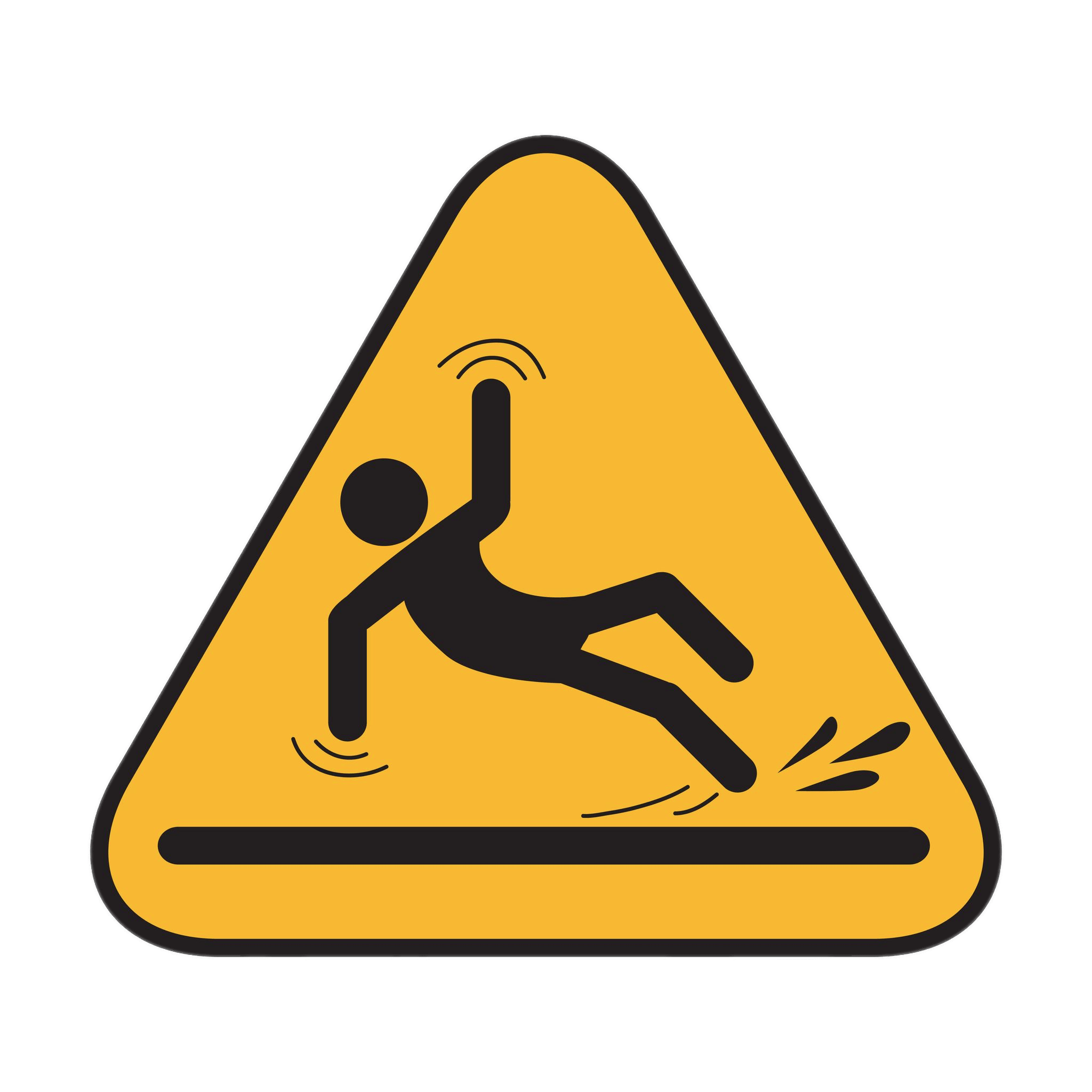 slip and fall clip art free - photo #32