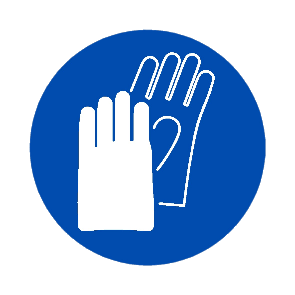 Hand Protection Symbol Transparent Png Stickpng