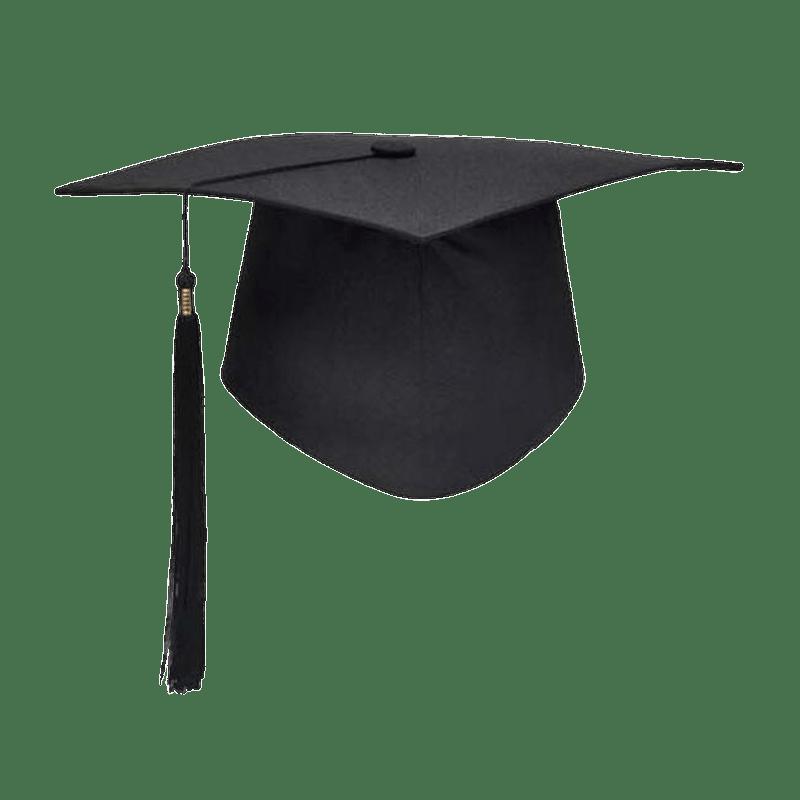 black graduation hat transparent png stickpng