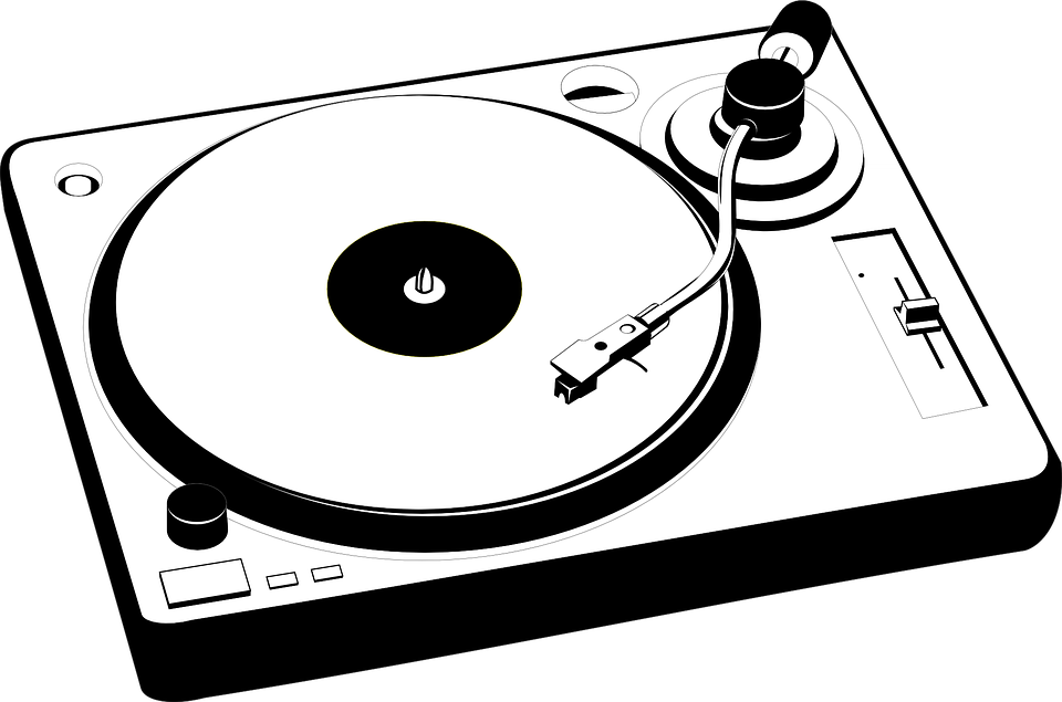 vintage turntable clipart transparent png stickpng rh stickpng com simple turntable clipart DJ Turntables Graffiti Art