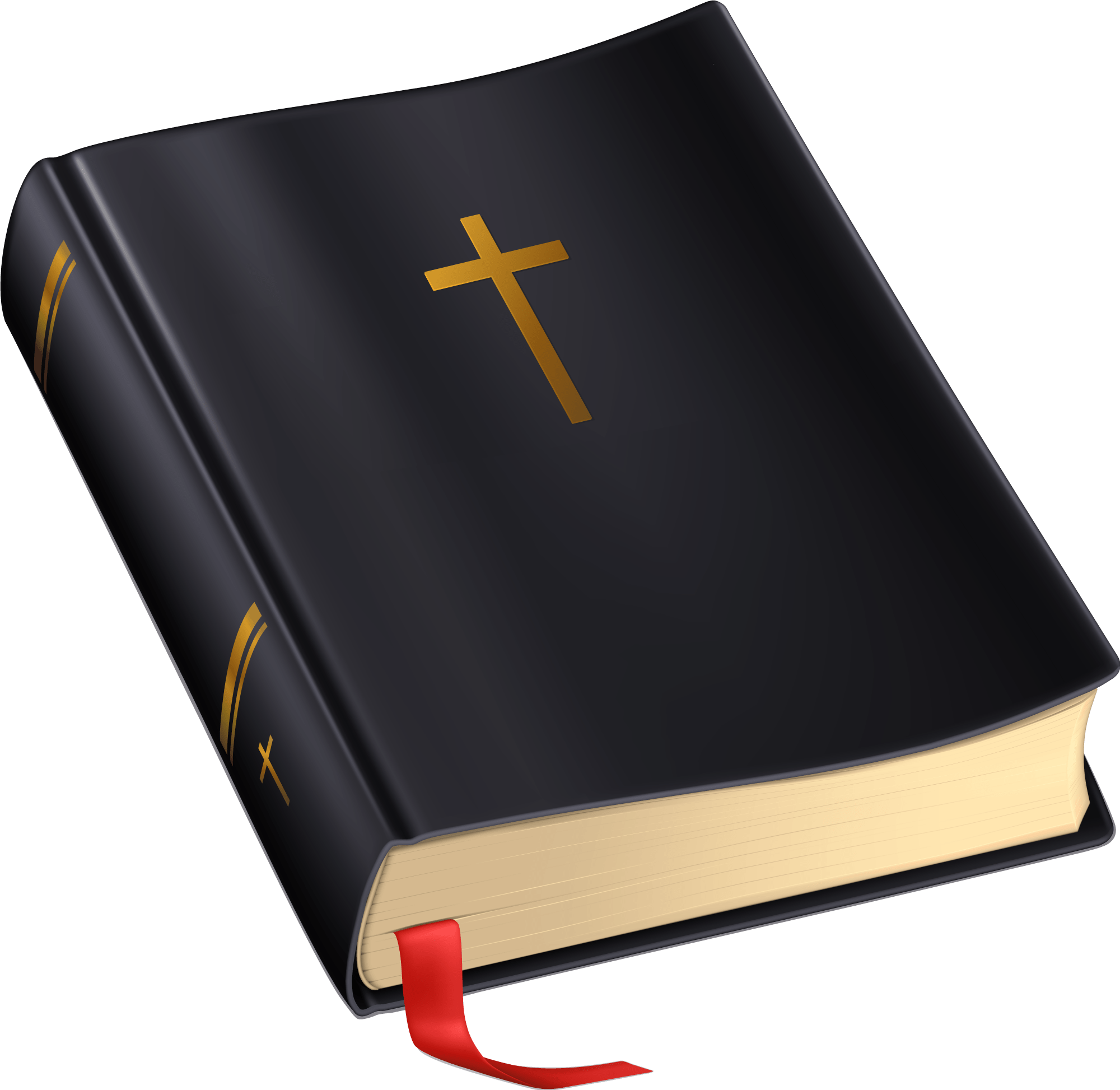 bible with cross transparent png stickpng
