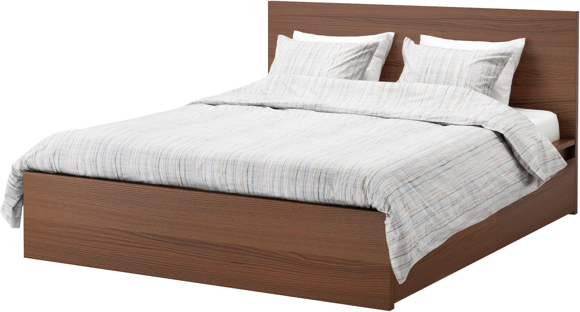 Modern Wooden Beds ~ Modern wooden bed transparent png stickpng