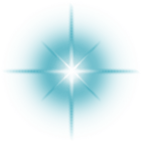 Lens Flare Blue transparent PNG - StickPNG