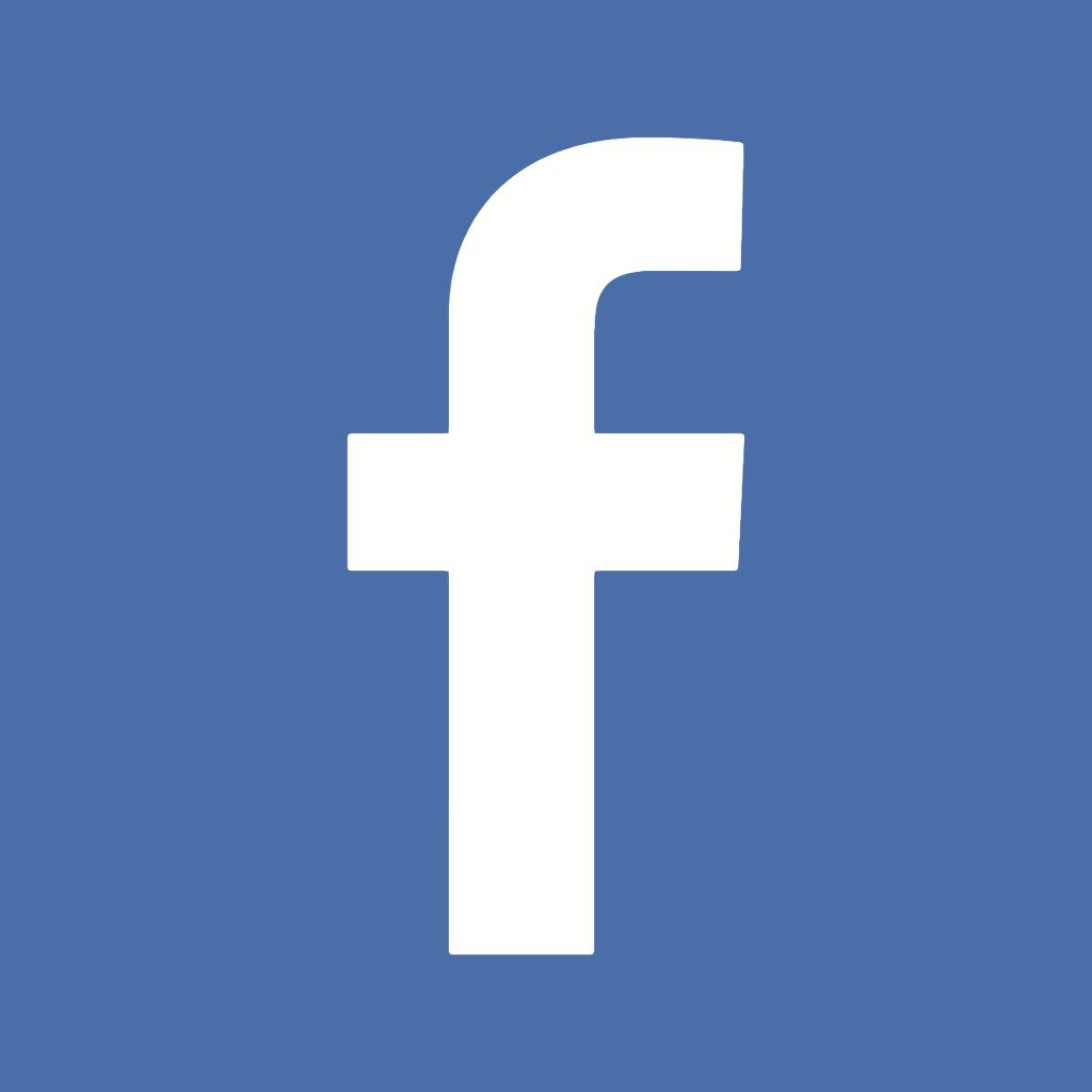 Resultado de imagen de icono facebook cuadrado