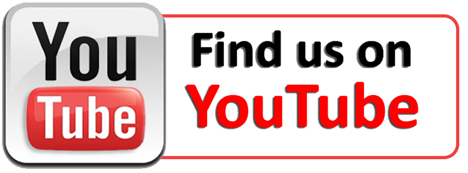 Find Us on Youtube transparent PNG - StickPNG