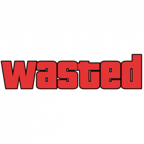 58ee7c023545163ec1942ca9 wasted gta transparent png stickpng