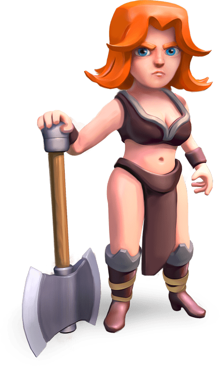 Clash Of Clans Valkyrie transparent PNG  StickPNG