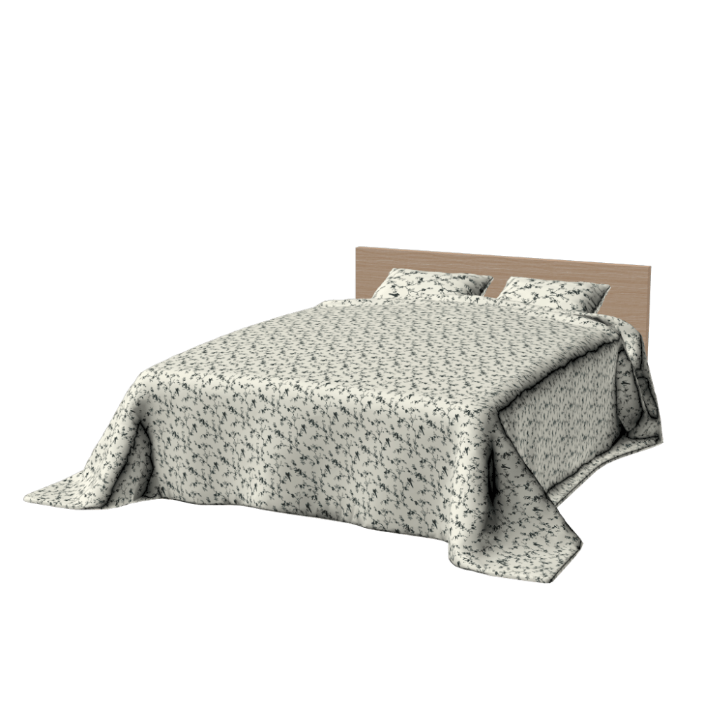 Ikea Marco de Cama Malm PNG transparente - StickPNG