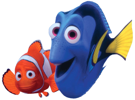 nemo and dory transparent png stickpng finding nemo clipart free finding nemo clip art free