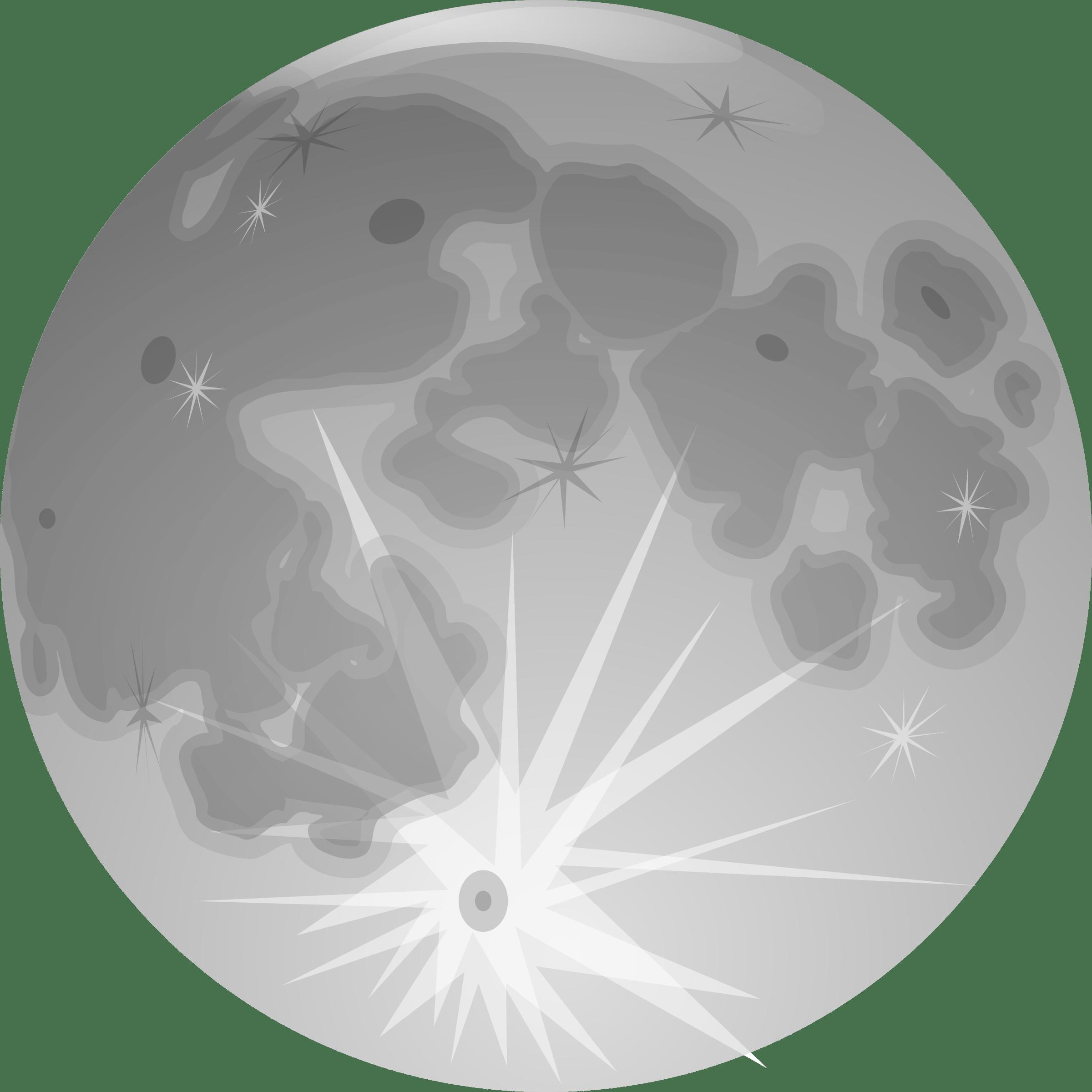Moon Illustration Transparent PNG