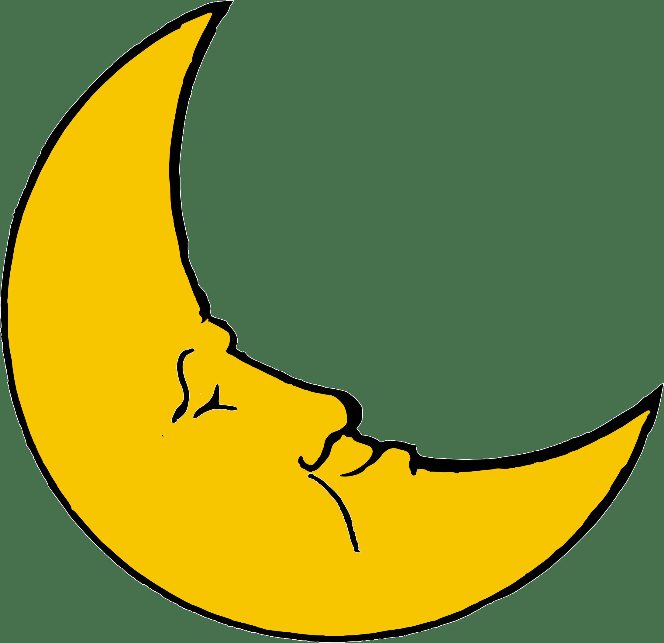 Smiling moon crescent transparent png stickpng smiling moon crescent buycottarizona Image collections