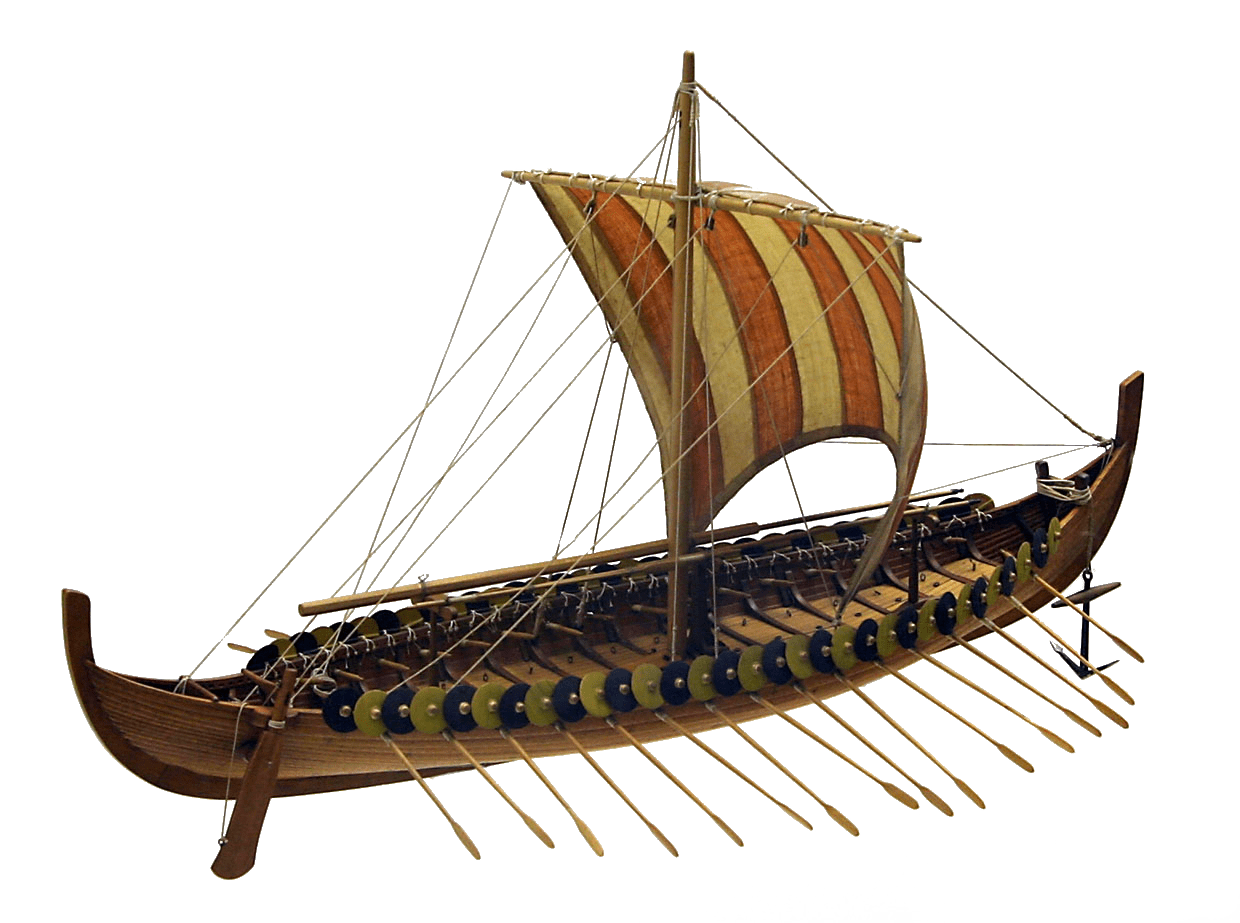 Large Viking Boat Transparent Png Stickpng Sailing windsurfing png, clipart, adobe illustrator, boat, boating. stickpng