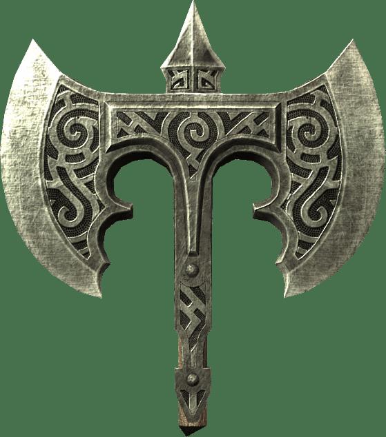 Ebony battleaxe skyrim