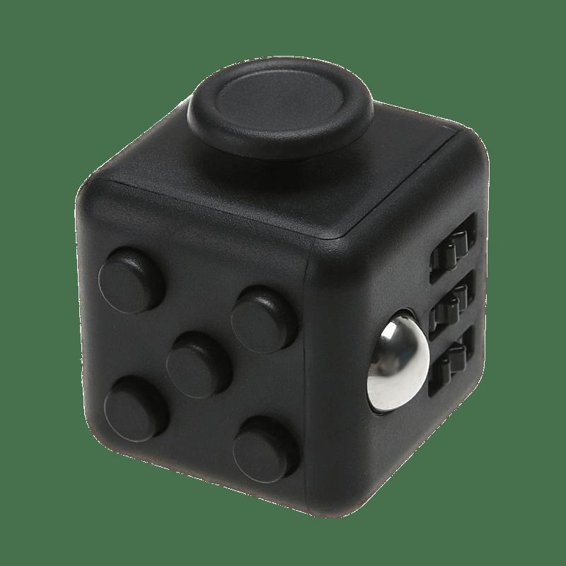 Black Fidget Cube Transparent PNG