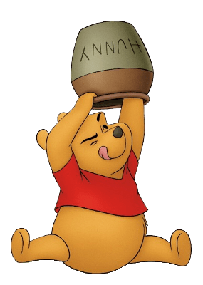 Winnie the Pooh and Honey Pot