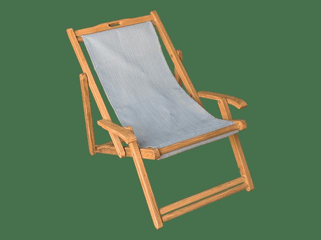 Simple Teak Beach Lounge Chair Transparent Png Stickpng