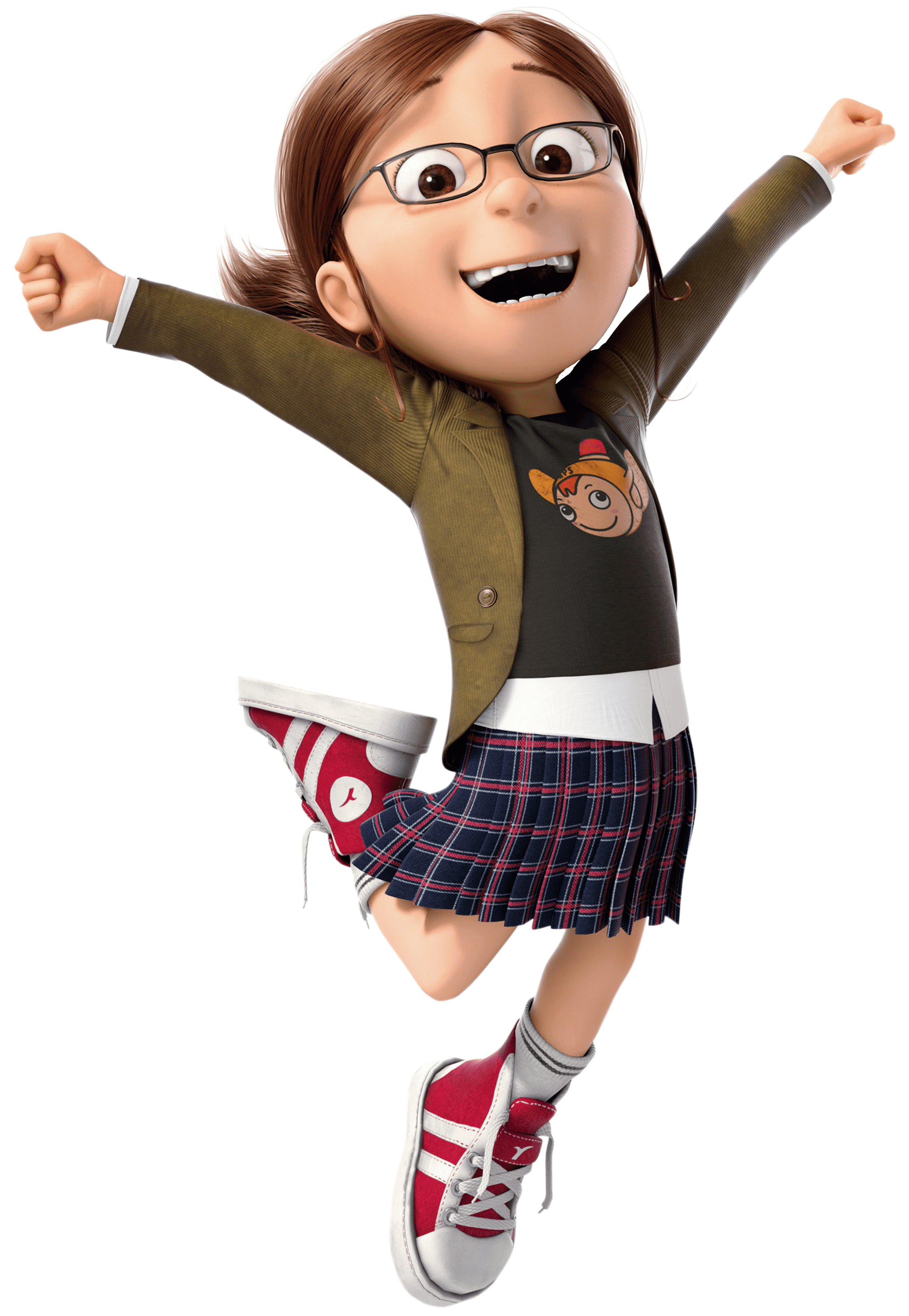 margo jumping despicable me transparent png stickpng