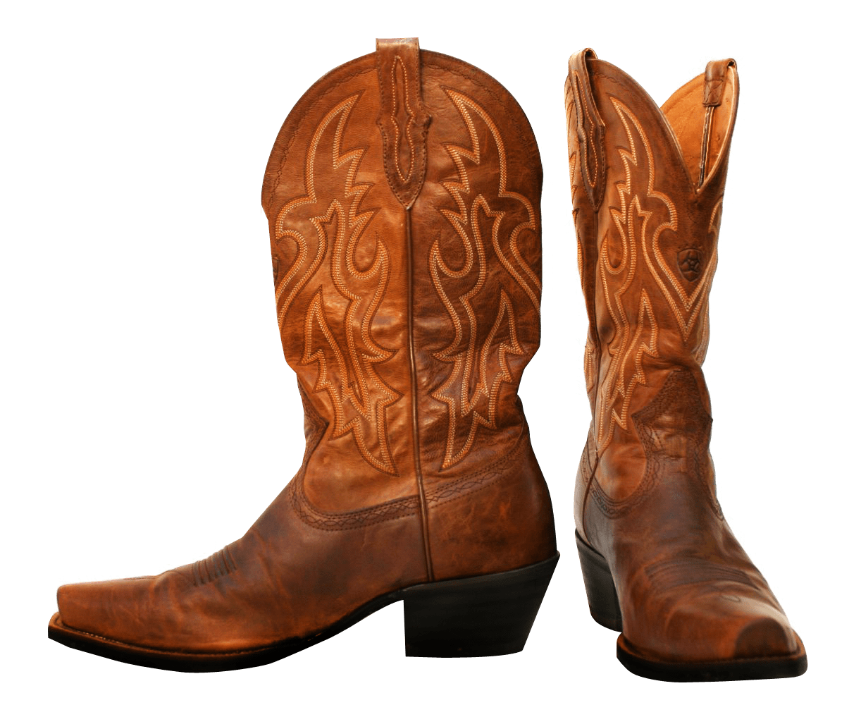 3064f588248 Pair Of Cowboy Boots transparent PNG - StickPNG