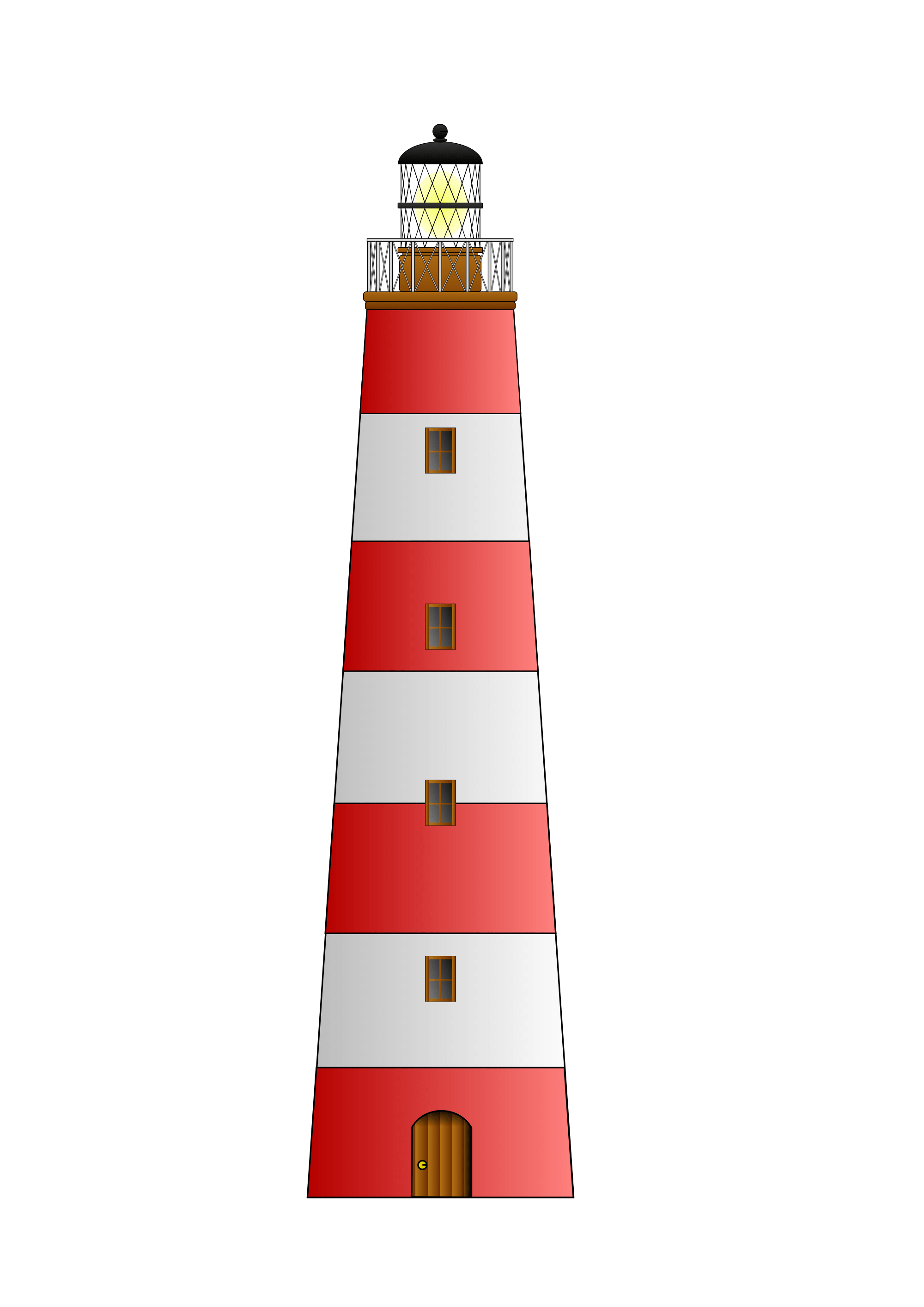 red white lighthouse clipart transparent png stickpng rh stickpng com lighthouse clip art black and white lighthouse clip art black and white free