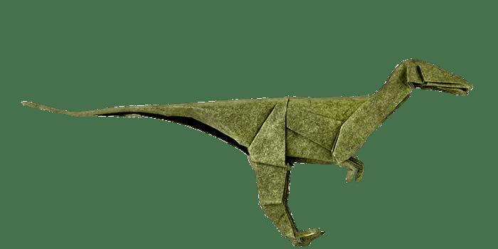 Origami Dinosaurio PNG transparente StickPNG