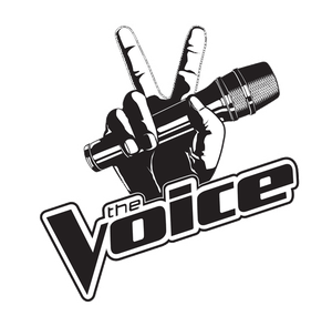 The Voice Logo With Microphone transparent PNG - StickPNG