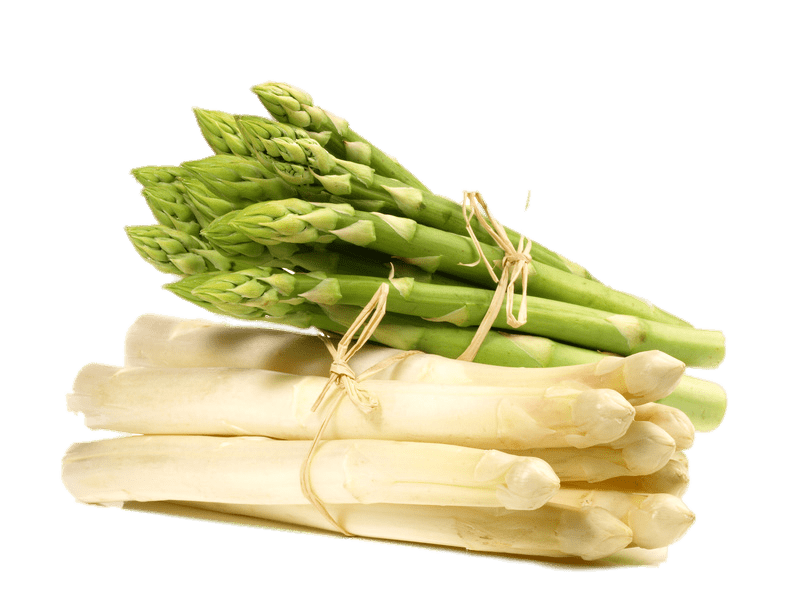 White And Green Asparagus Transparent Png Stickpng