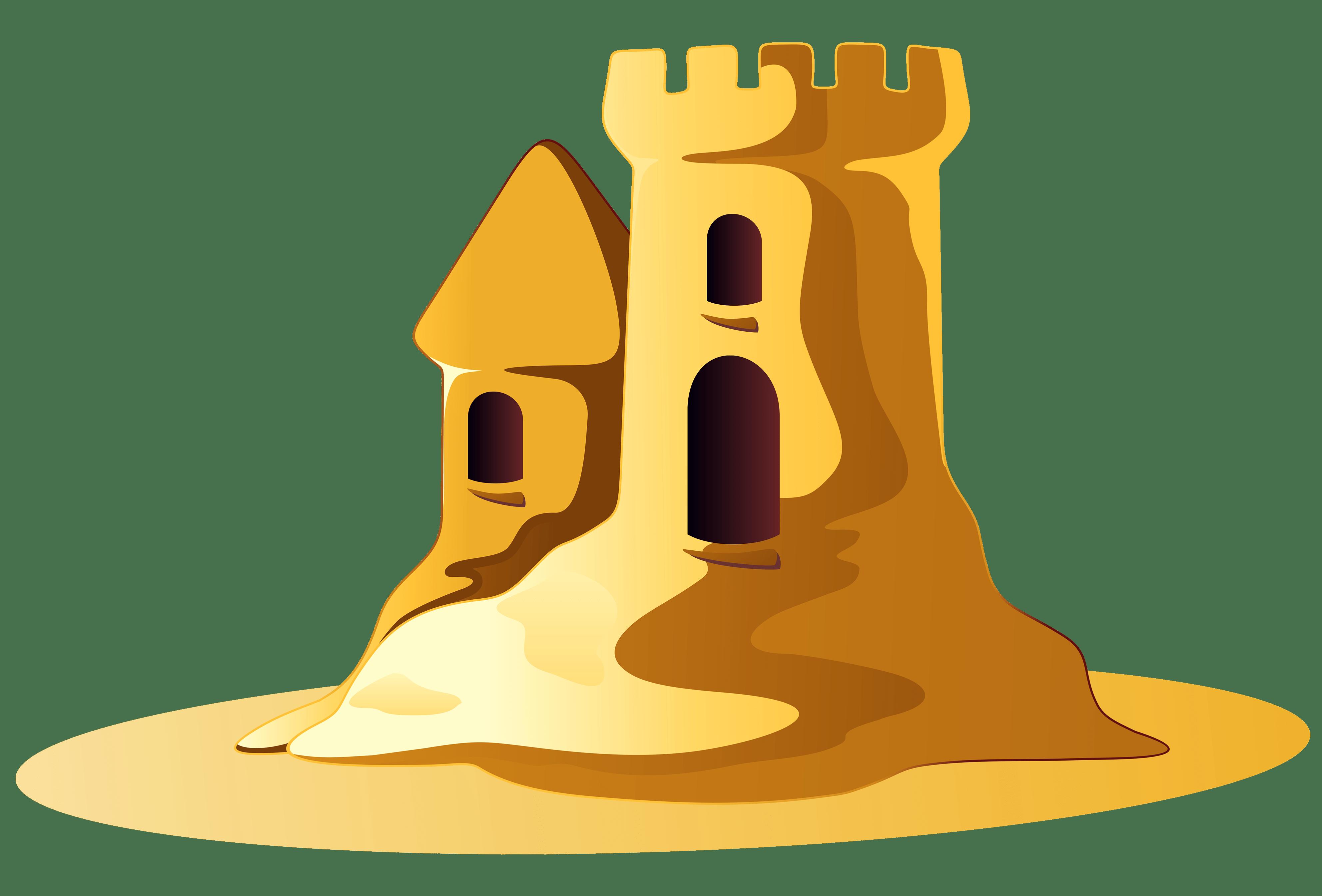 small sand castle clipart transparent png stickpng rh stickpng com Sand Clip Art Mexcan Sand
