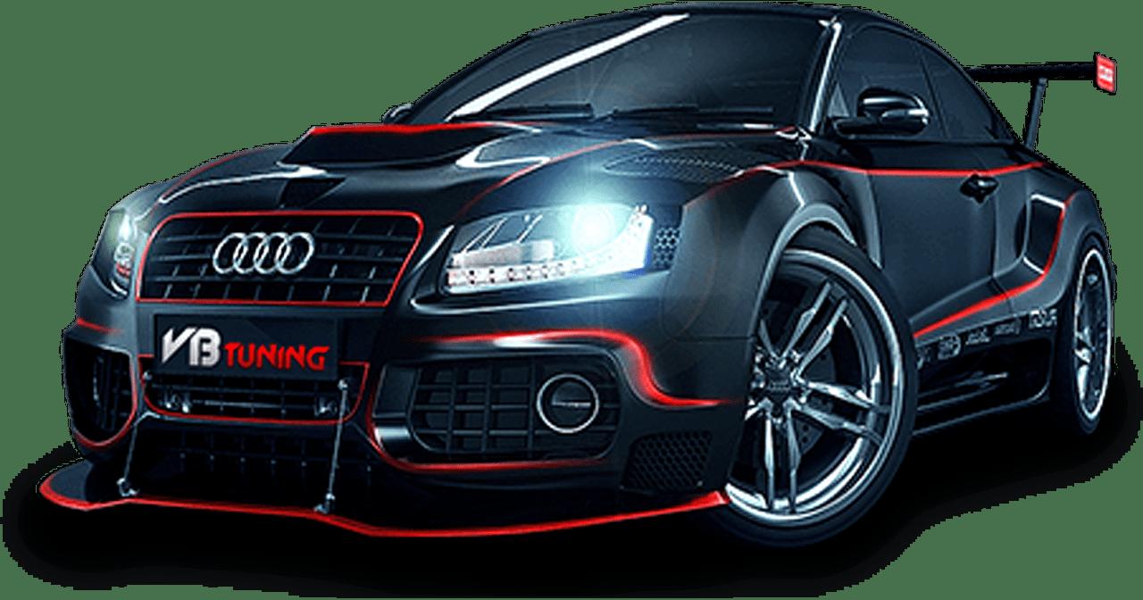 Car Audi VB Tuning Transparent PNG StickPNG - Audi tuning