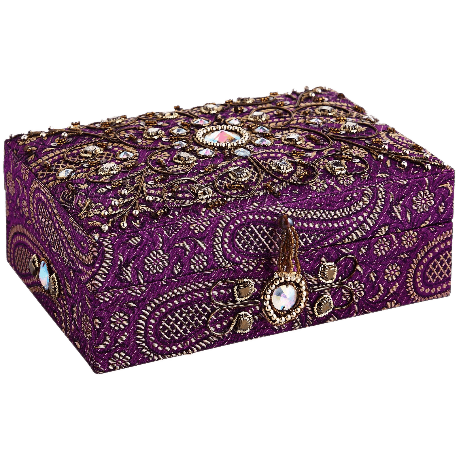 Embroidered Jewelry Box transparent PNG StickPNG
