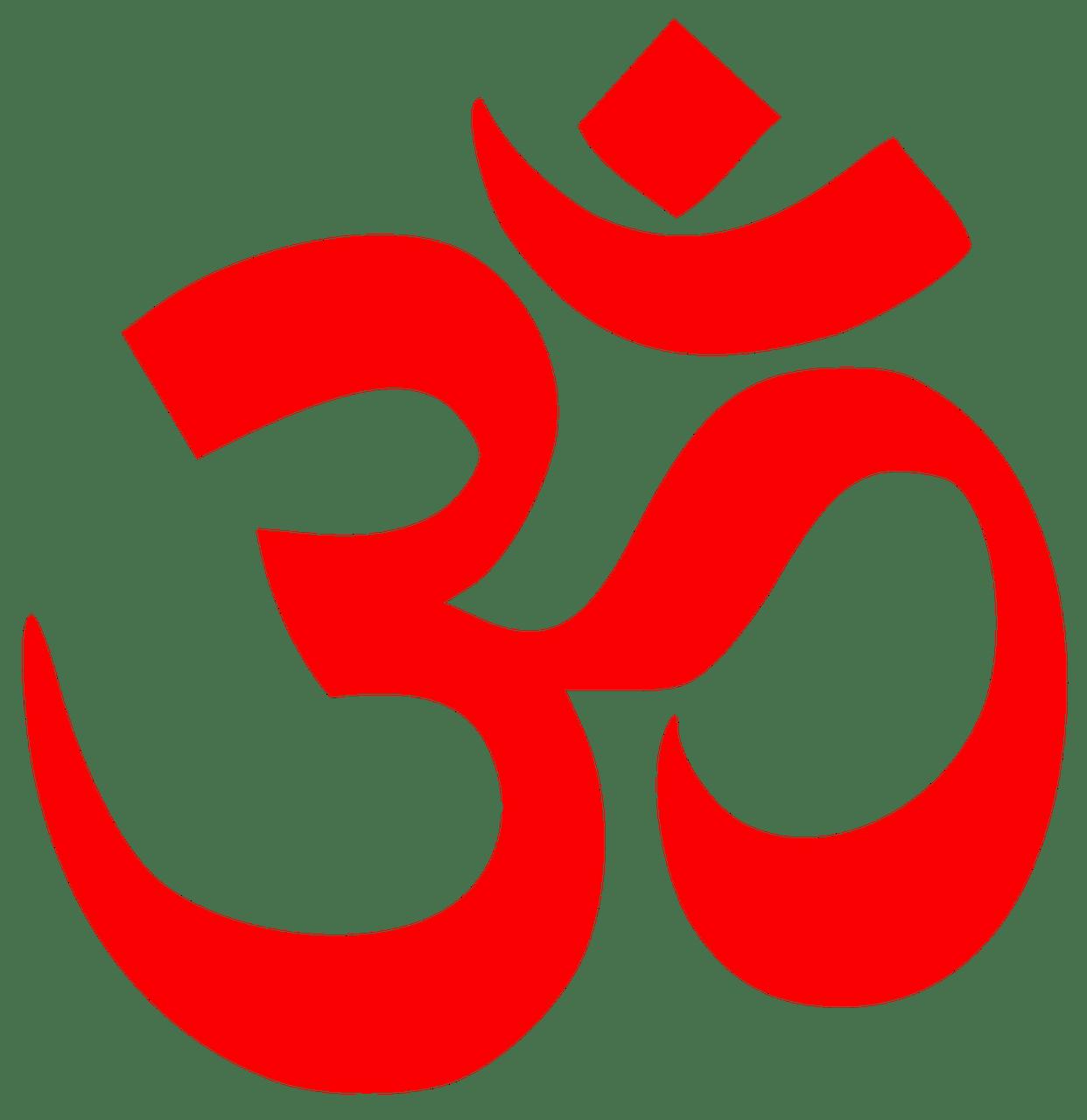 Mantra Om In Golden Lotus Flower Transparent Png Stickpng
